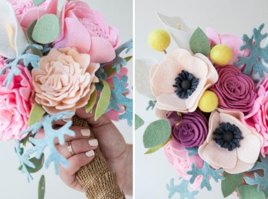 SomethingTurquoise-DIY-felt-wedding-bouquet_0002